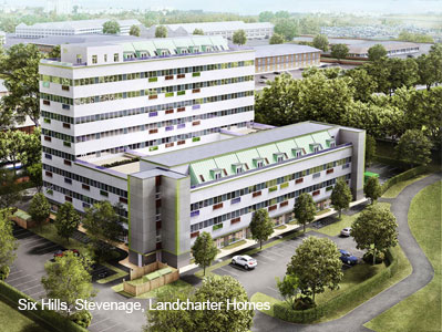Six Hills, Stevenage, Landcharter Homes